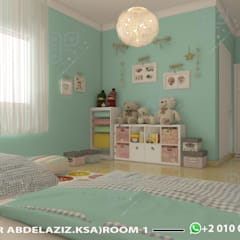 Nursery/kid's room by UTOPIA DESIGNS AND CONSTRUCTION