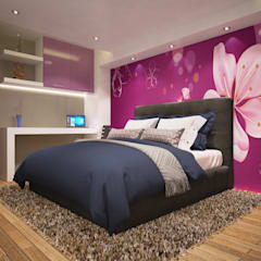 Girls Bedroom by Dc&d