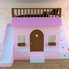 Girls Bedroom by Happy Kids Muebles