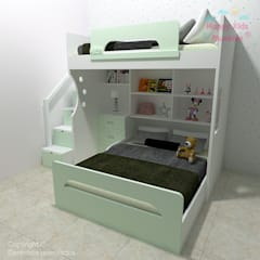 Happy Kids Muebles의  남아 침실