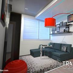 DEPARTAMENTO FILIPINAS: Electrónica de estilo  por TRASSO ATELIER