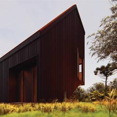 Casas de madera de estilo  de Franthesco Spautz Arquitetura