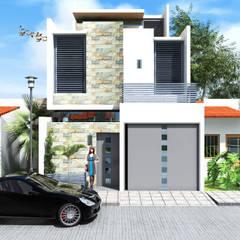 منزل عائلي صغير تنفيذ Arquitectura & Diseño