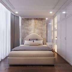 THIẾT KẾ CĂN HỘ LANDMARK 81 Mr.Dung - Chuẩn mực Không gian sống thượng lưu:  Phòng ngủ by ICON INTERIOR