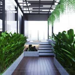 THIẾT KẾ CĂN HỘ LANDMARK 81 Mr.Dung - Chuẩn mực Không gian sống thượng lưu:  Vườn by ICON INTERIOR