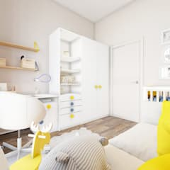 Zil art :  Teen bedroom by Alena Rubtsova