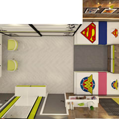 Small bedroom by Space Polygon, Modern