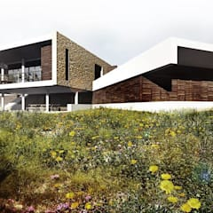 CASA DE CAMPO : Casas do campo e fazendas  por Franthesco Spautz Arquitetura
