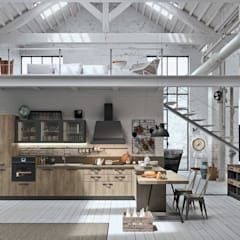 Built-in kitchens by LAURAHOMEPLANNER, Industrial