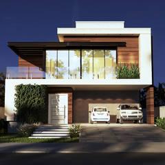 من Gelker Ribeiro Arquitetura | Arquiteto Rio de Janeiro حداثي الخشب هندسيا Transparent