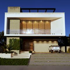 Projeto Casas Modernas: Condomínios  por Gelker Ribeiro Arquitetura | Arquiteto Rio de Janeiro
