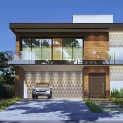 من Gelker Ribeiro Arquitetura | Arquiteto Rio de Janeiro حداثي خشب Wood effect