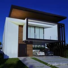 من Gelker Ribeiro Arquitetura | Arquiteto Rio de Janeiro حداثي خشب معالج Transparent