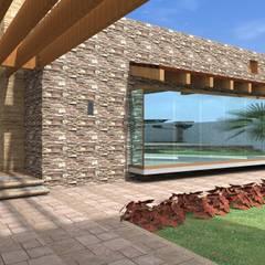 Proyecto | Casa Castellanos: Pasillos y recibidores de estilo  por Arquitectura & Diseño , Mediterráneo Cerámico