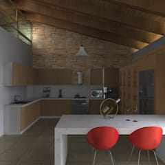 Built-in kitchens by Arquitectura & Diseño ,