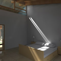 Proyecto | Casa Castellanos: Recámaras de estilo  por Arquitectura & Diseño , Mediterráneo Madera Acabado en madera