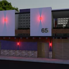Projekty,  Dom wielorodzinny zaprojektowane przez Arquitectura & Diseño