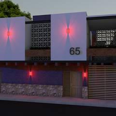 Arquitectura & Diseño 의  다가구 주택