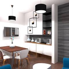 Remodelación y ampliación | Departamentos 65: Comedores de estilo  por Arquitectura & Diseño , Escandinavo Cerámico