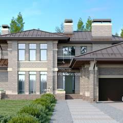 Дом в стиле Райта: Дома на одну семью в . Автор – ArchProject