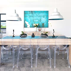New Build Guest House de Kelders:  Dining room by Overberg Interiors,