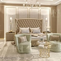 Luxury master bedrooms:  Bedroom by Fancy House Design