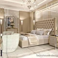 Luxury master bedrooms:  Bedroom by Fancy House Design