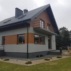 فيلا تنفيذ Budownictwo i Architektura Marcin Sieradzki - BIAMS