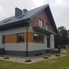 Villa by Budownictwo i Architektura Marcin Sieradzki - BIAMS