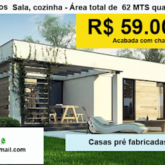 Prefabricated home by ARES CONSTRUTORA