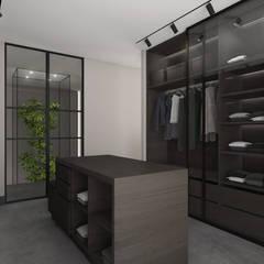 Ruang Ganti oleh Mariska Jagt Interior Design, Modern