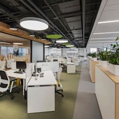 Office buildings by Light and Design