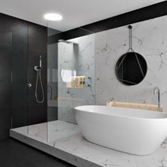 Marble Bathroom:  Bathroom by Zero Point Visuals, Modern Marble