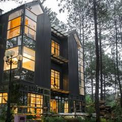 thiết kế biệt thự nghỉ dưỡng dalat:  Nhà by thiết kế khách sạn hiện đại CEEB, Hiện đại