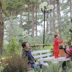 thiết kế sân vườn biệt thự nghỉ dưỡng dalat:  Vườn by thiết kế khách sạn hiện đại CEEB