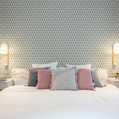 Vivienda VyA: Dormitorios de estilo  de UVE laboratorio de diseño
