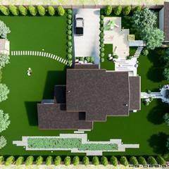 Вид сверху: Загородные дома в . Автор – hq-design