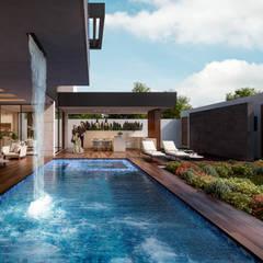 Garden Pool by Álvarez Bernés Arquitectura