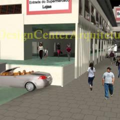 Projeto Supermercado Rede Supermarket: Espaços comerciais  por DESIGN CENTER ARQUITETURA