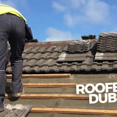 Roofers Dublin:  Roof terrace by Roofers Dublin