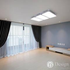 Salones de estilo  de Design Daroom 디자인다룸, Moderno