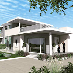 منزل عائلي صغير تنفيذ Marta Ingrosso architetto