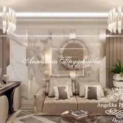 Дизайн-проект интерьера большой квартиры в ЖК Долина Сетунь: Рабочие кабинеты в . Автор – Дизайн-студия элитных интерьеров Анжелики Прудниковой