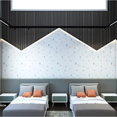 Boys Bedroom توسطICONIC DESIGN STUDIO, مدرن