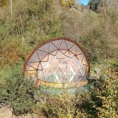 Geodome Gewächshaus geodätische Kuppel:  Gastronomie von Kugelblick