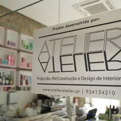 Salão de chá: Espaços comerciais  por AtelierAtelier