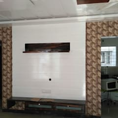 Media room by Peak Interior