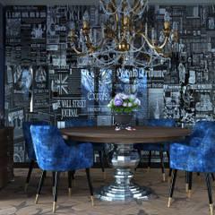 Апартаменты для двоих в Доломитах, Италия Appartamenti per coppie, Dolomiti.: Столовые комнаты в . Автор – GK-STUDIO.RU