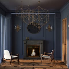 Апартаменты для двоих в Доломитах, Италия Appartamenti per coppie, Dolomiti.: Маленькие спальни в . Автор – GK-STUDIO.RU,