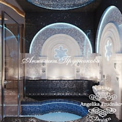 Дизайн-проект интерьера бассейна в г.Брянск: Бассейн в . Автор – Дизайн-студия элитных интерьеров Анжелики Прудниковой
